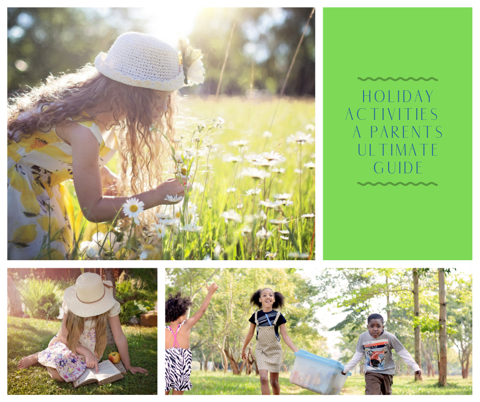 Holiday Activities - Kids outdoors